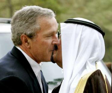 Bush-King Abdullah