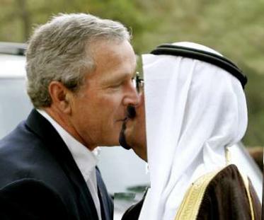 Bush-King Abdullah