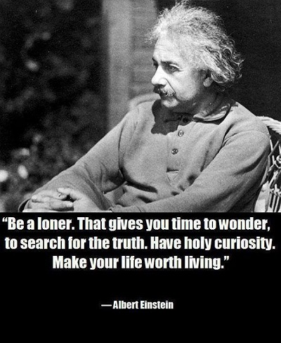 Be a loner