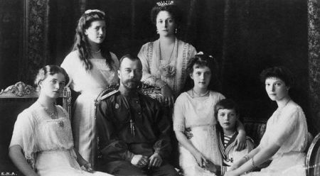 Nicholas II Surrounded by Family